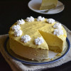Egg Free Gelatin Free Mango Mousse Cake - Video Recipe