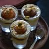 Paneer Gulab Jamun Shot Glass Dessert - Easy Kid Friendly Recipes