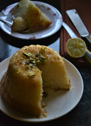 Yeasted Egg Free Lemon Cake Recipe - #BreadBakers