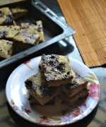 Low Carb Coconut Flour Chocolate Chunk Bars Recipe