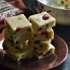 Cherry White Chocolate Fudge - Christmas Recipes
