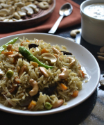 Kaju Pulao - Andhra Pradesh Cashewnut Pulao Recipe