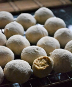 Kourebiedes - Greek Snow Ball Cookies Recipe