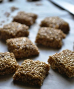 Pasteli - Greek Sesame Honey Candy Recipe