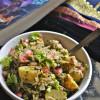 Aloo Chutney Pulao - Haryana Green Potato Pulao Recipe