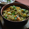 Mangalore Veg Biryani Recipe - Karnataka Spicy Veg Palav