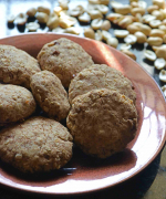 Three ingredients Oats Peanut Cookies Recipe
