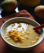 Mango Rasayana / Mango Shikarni / Seekarane Recipe - No Cook Desserts