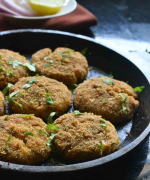 Baked Potato Paneer Cutlet Recipe