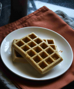 Whole Wheat Waffles Recipe (Baked)