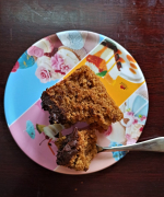 Eggless Whole Wheat Orange Cake with Chocolate Frosting - #BakingWithoutOvenSeries - Video Recipe