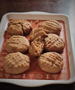 Whole Wheat Peanut Butter Cookies Recipe - #BakingWithoutOvenSeries