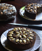Eggless Whole Wheat Christmas Cake Without Oven - #BakingWithoutOvenSeries