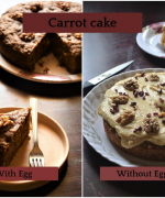 Best Whole Wheat Carrot Walnut Cake Recipe - Both Egg and Eggless Recipes