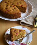 Eggless Vanilla Teacake - Video Recipe - #bakingwithoutovenseries