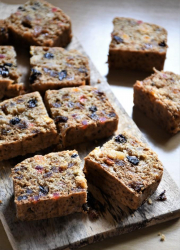 Eggless Buttermilk Fruit Cake - Video Recipe